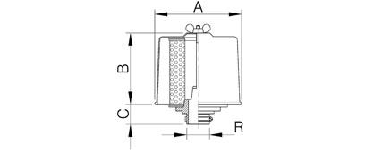 Ansaug-Filter Polyester AS