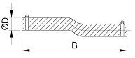 Flexibler Rohranschluss